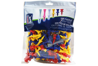 PGA Tour Castle Tees 200 Pack
