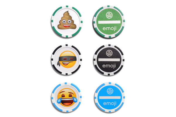 Emoji Ball Marker Poker Chips