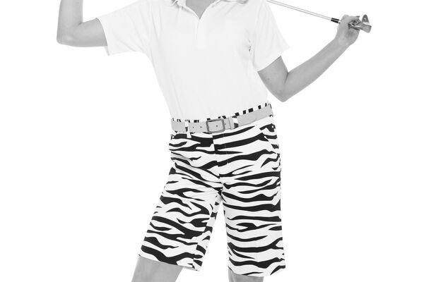 Ryl and Awe Shorts Zebra S5