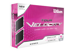 Wilson Tour Velocity Ladies 12 Ball Pack