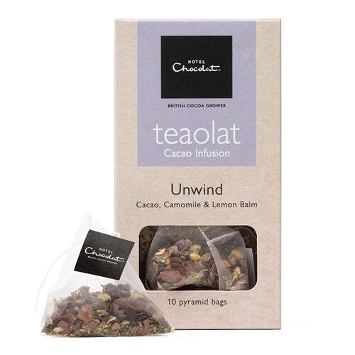 Teaolat Unwind - Cacao, Camomile & Lemon Balm , , hi-res