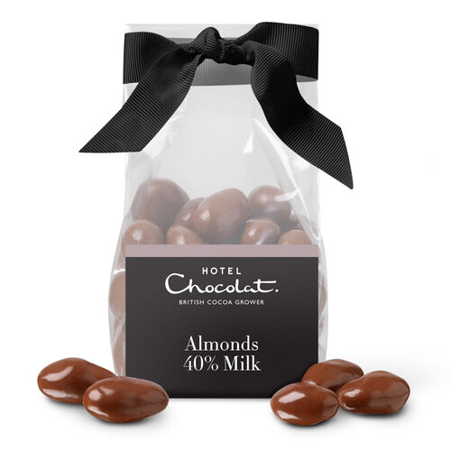 Milk Chocolate Salted Caramelised Almonds, , hi-res