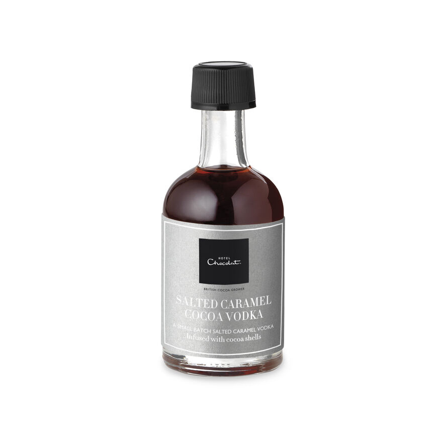 50ml Salted Caramel Cocoa Vodka, Miniature, hi-res