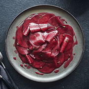 Beetroot carpaccio, , hi-res