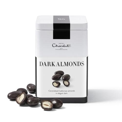 Dark Chocolate Almonds, , hi-res