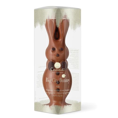 The Big City Bunny - Milk Chocolate, , hi-res