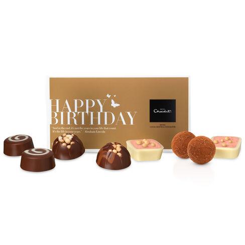 Happy Birthday Message Box, , hi-res