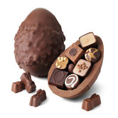 Extra Thick Easter Egg – Rocky Road to Caramel, , hi-res