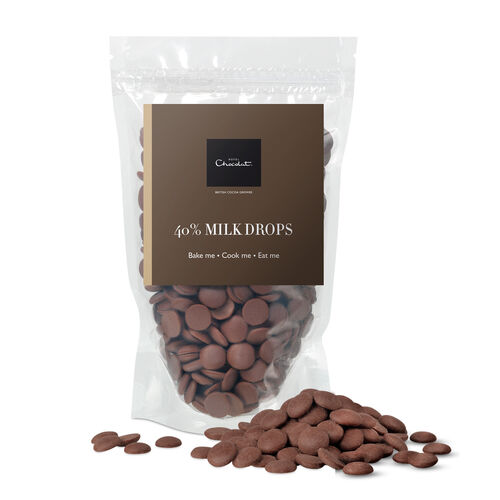 40% Milk Chocolate Drops, , hi-res