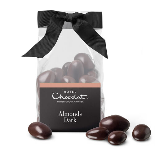Dark Salted Caramel Almonds, , hi-res