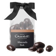 Dark Salted Caramelised Almonds, , hi-res