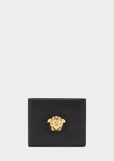 Palazzo calf leather wallet - Versace Small Accessories