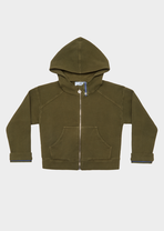 Young Versace Tag Zip Hoodie - Young Versace Clothing
