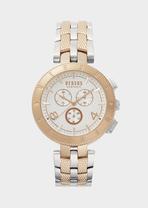 Cronografo New Logo bitonale rosa - Versus Orologi