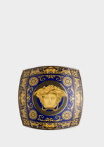 Medusa Blue Dish 14 cm - Versace Bowls & Trays