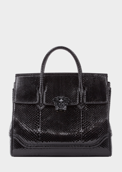 Python Palazzo Empire Bag - Versace Shoulder Bags