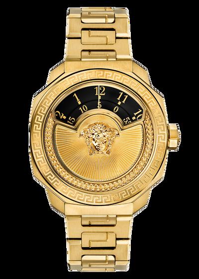 Dylos Automatic Ltd Ed Black Insert Watches - Versace Preziosi