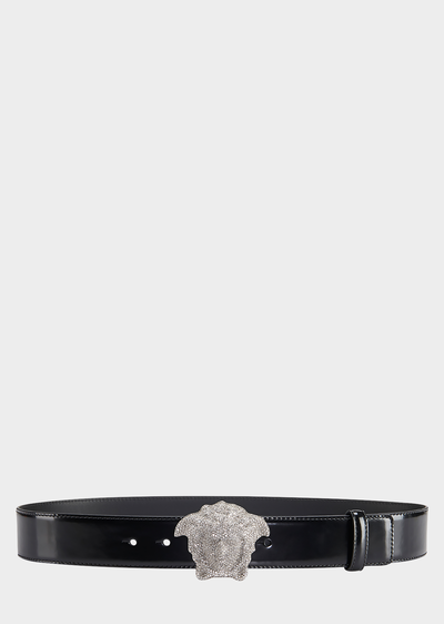 Crystal 3D Medusa Belt Belts - Versace