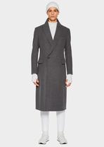 Tailored Wool Blend Coat A81V - Versace Abbigliamento