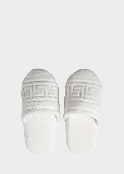 Greca Key slippers for women Slippers - Versace Home