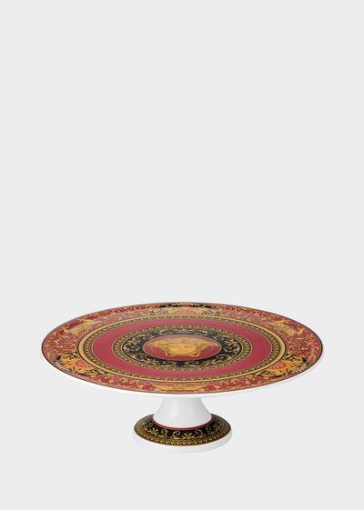Medusa tart  platter 33 cm Bowls & Trays - Versace