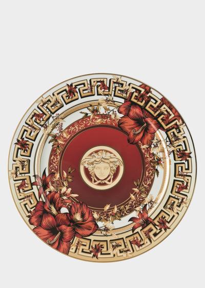 Piatto Christmas Blooms da 30 cm Piatti - Versace Porcellane e Cristalli