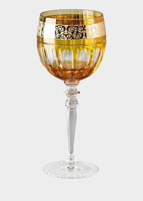 Prestige Gala Amber water glass - Versace Glass & Crystal