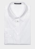 Stretch Cotton Collared Shirt Shirts - Versace