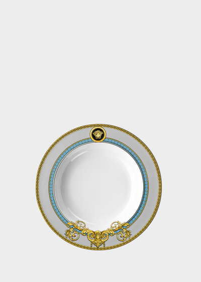 Piatto Prestige Gala Bleu 22 cm Piatti - Versace Porcellane e Cristalli