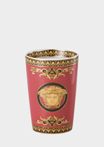 Medusa Red Mug Without Handle - Versace Cups