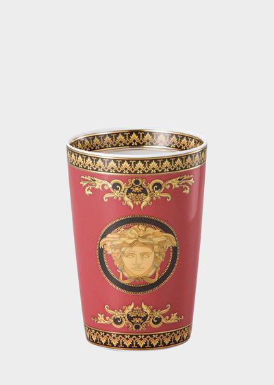 Medusa Red Mug Without Handle Cups - Versace Porcellane e Cristalli