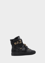 Elasticated High-Top Sneakers - Versace Sneakers