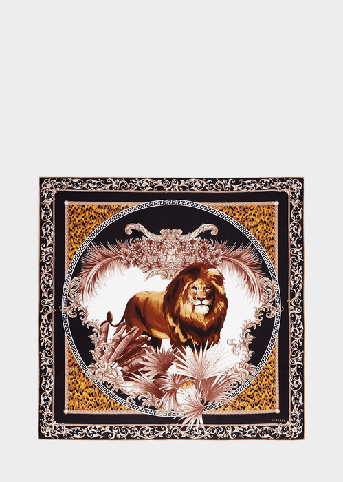 Leo Print Scarf - Versace Foulards & Scarves