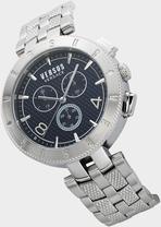 Cronografo New Logo argento - Versus Orologi