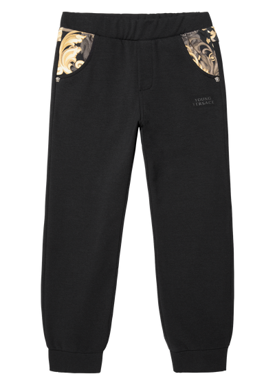 Sweatpants with print details Junior Clothing  4 - 14 years - Young Versace