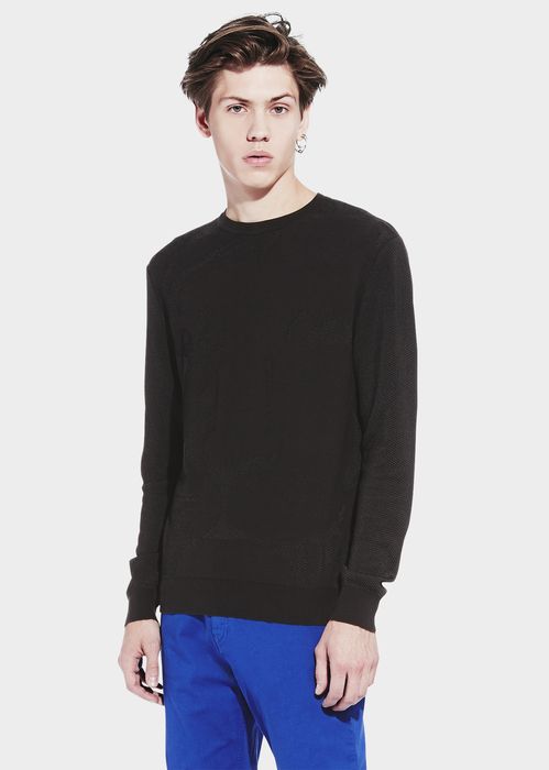 LION HEAD KNITTED CREW NECK Knitwear - VERSUS