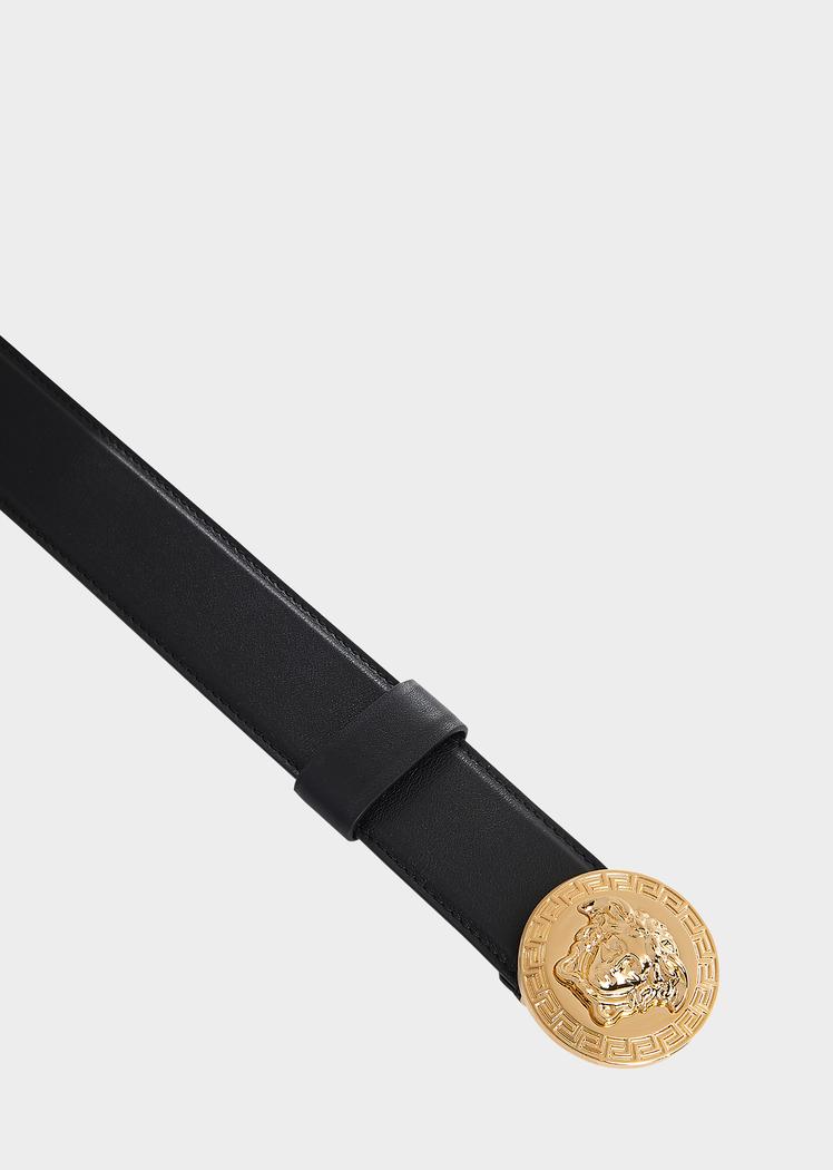 Round Medusa Belt - Versace Belts