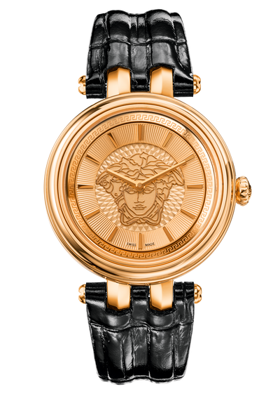 Khai watch with leather strap Watches - Versace Preziosi