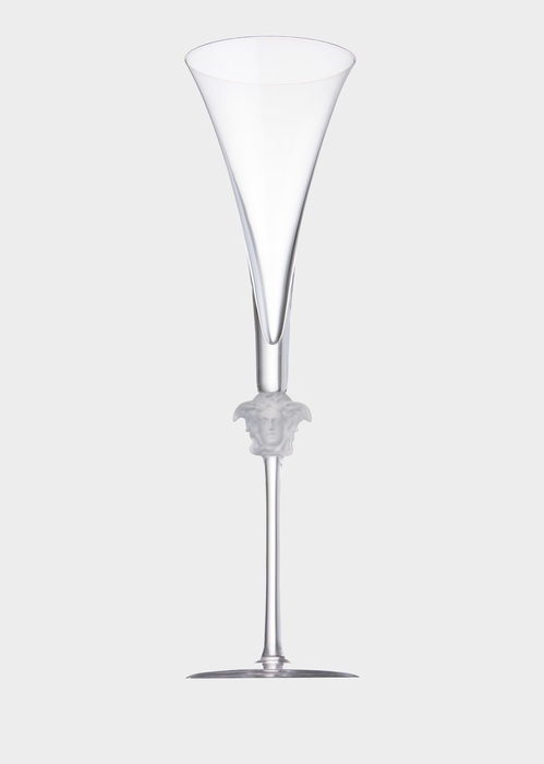 Medusa Lumiere Champagne Flut - Versace Glass & Crystal