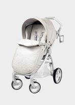 Kombi-Kinderwagen aus Kunstleder - Young Versace Kinderwagen