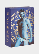 Greek Key Band Mesh Boxers Boxers - Versace