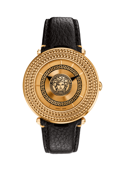 watches gold v metal icon 46mm versace watches