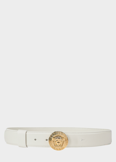 Round Medusa Belt Belts - Versace Accessori