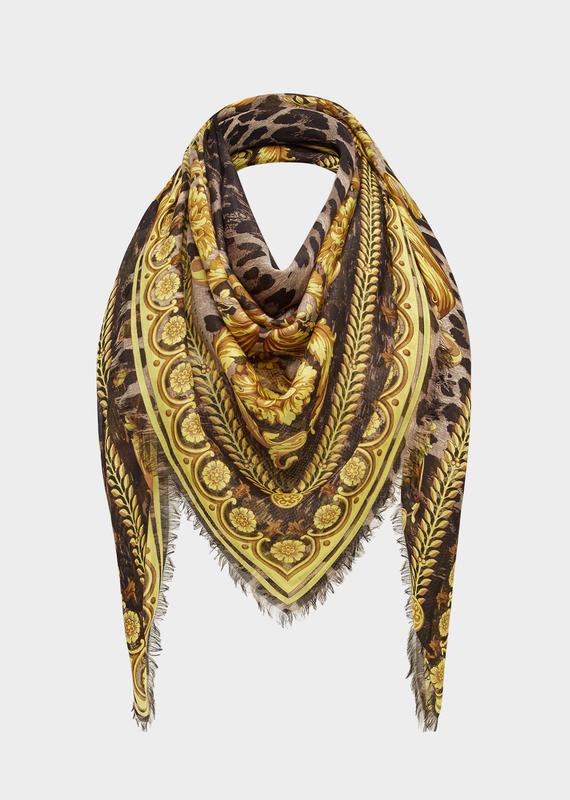 Scialle Wild Baroque - Versace Foulards & Sciarpe