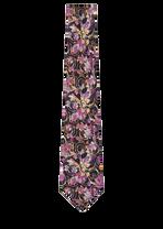 Baroque Print Silk Tie I4201 - Versace