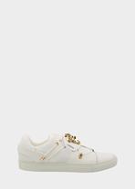 Palazzo Medusa Head leather sneaker Sneakers - Versace Accessori