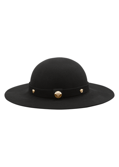 Wool hat with Medusa studs Junior Accessories  4 - 14 years - Young Versace