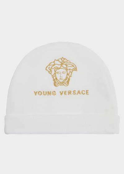 Cotton Medusa Hat Accessories - Young Versace