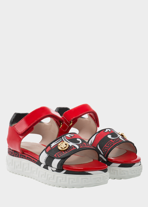Sandals with Greca pattern Junior Accessories  4 - 14 years - Young Versace