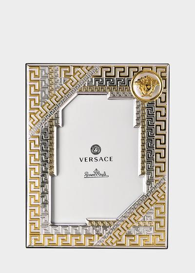 Greca Medusa Picture Frame 9x13 cm Frames - Versace Porcellane e Cristalli